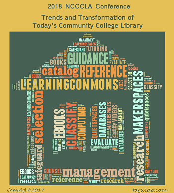 2018 NCCCLA Conference: Trends and Transformation of Today's Community College Library
