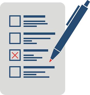 ballot and pen
