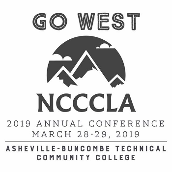 Go West NCCCLA 2019 Annual Conference, March 28 - 29, 2019, Asheville-Buncombe Technical Community College
