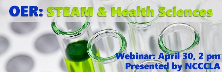 OER: STEAM & Health Sciences Webinar